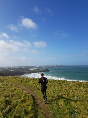 Trailrun mit perfekter Aussicht