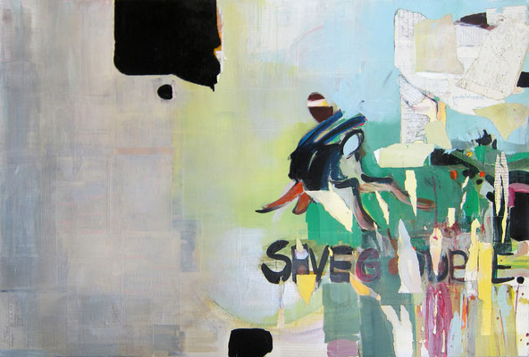 TIME TO SAVE GOODBYE 03/2014 80X120CM