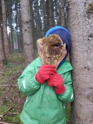 Eine Waldkamera