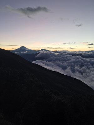 Blick auf den Chimborazo