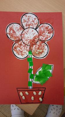 Coloriage Fleur Tps.Petits Partages Maicresse La Classe Des Touts Petits Tps