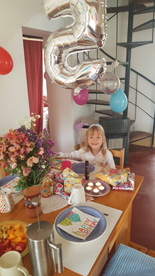November 2018: Marta's 5. Geburtstag