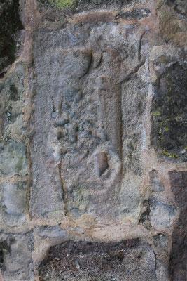 Viergötterstein aus dem 1 -3. Jahrhundert