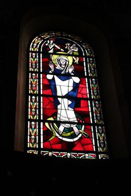 Kirchenfesnster aus Antik Glas