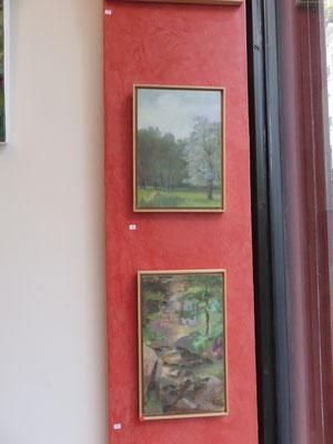 Delphine Germain - peinture à l'huile
