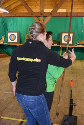 Sarah Durrer vom Sportcamp