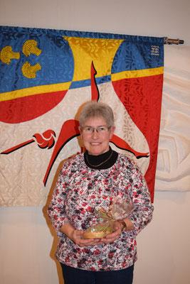 21 Jahre war Küchler Anny bei der  Fahnendelegation aktiv