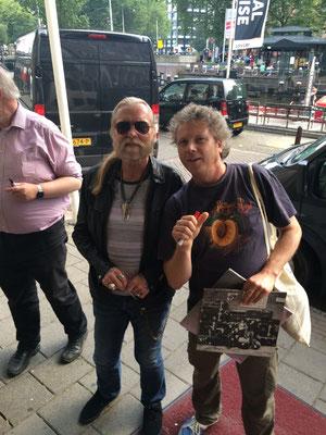 With Gregg Allman, 24 July 2015, Amsterdam