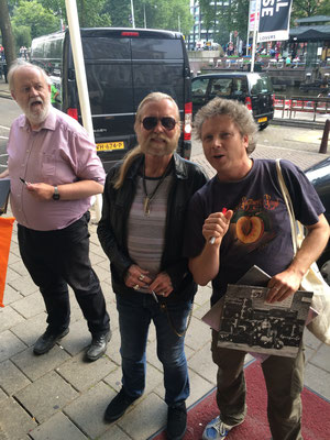 With Gregg Allman, 24 July 2015, Amsterdam