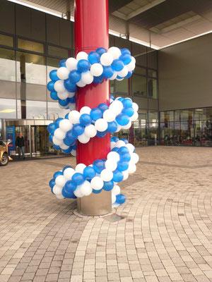 Luftballon Dekoration Girlande Expocamp