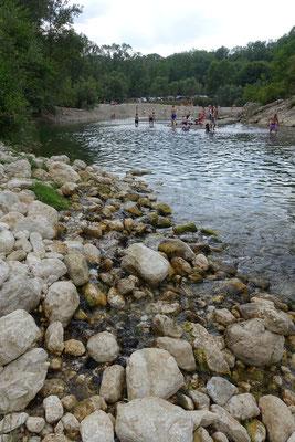 水源はいくつもまとまって川へ合流
