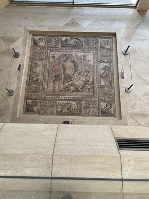 ディオニュソス・モザイク(ローマ、3-4世紀)