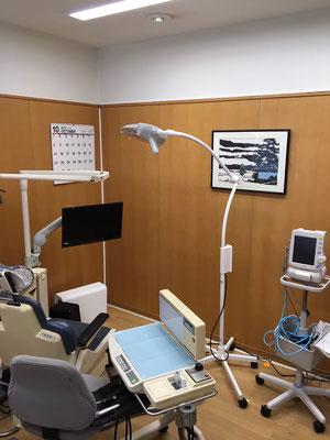 2階の個室・インプラント手術はここで