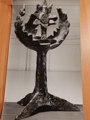 Originalphoto der Skulptur Franco Annonis 1964