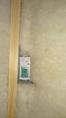 温湿度センサー設置