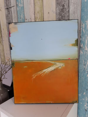 landschaft orange