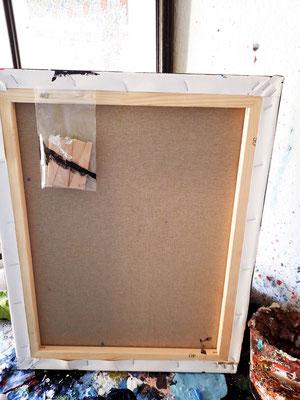 Keilrahmen - Handarbeit - Holz aus hiesigem Holz