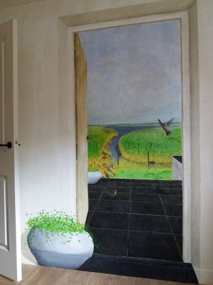 Room with a view - Trompe l'oeil