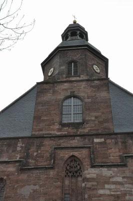 Turmseite der Münsterkirche...