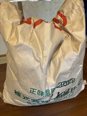 5月に植えたお米が実りました
