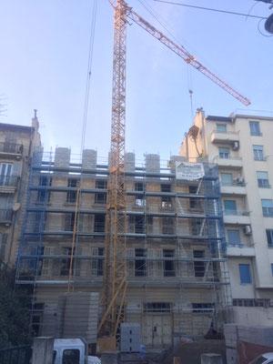 Carros Construction - surélévation maçonnerie immeuble à Nice