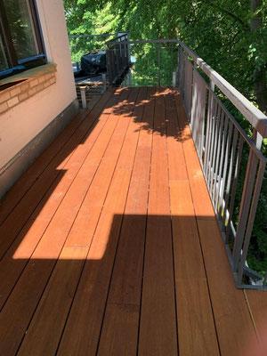 Terrassendielen Bambus Vinales coffee farbend