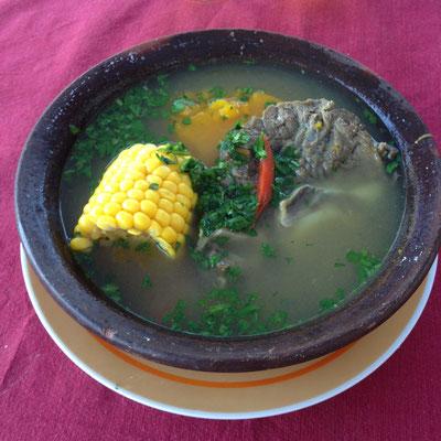 Melipeuco: Cazuela
