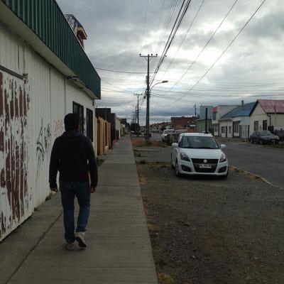 Punta Arenas: Ruhige Straßen