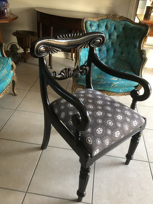 Ebonised Carver Chair | Circa 1860 | Price: $450.00