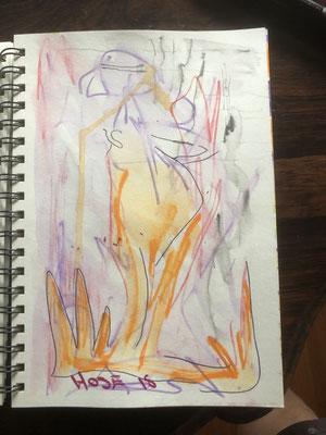 "Artist: Roger Hose | ""Nude Lady"" | 2019 | Price: $50.00"