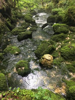 Vers les cascades du Flumen