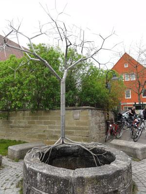 Cristian-Wagner-Brunnen von Frei Otto in Warmbronn