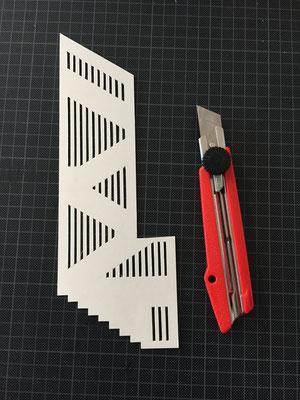 Modellbau Geländergestaltung Treppenhaus