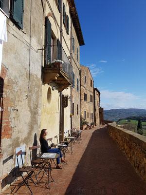Café auf der Stadtmauer