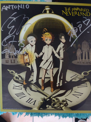 The Promised Neverland Shikishi