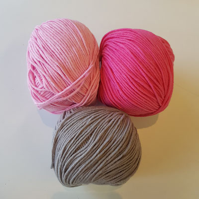 35 girly pink - 37 cotton candy - 96 shark grey