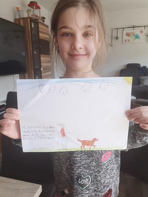 Celina wünscht sich einen Hund.