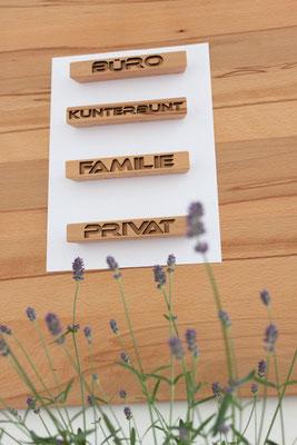Magnete aus Holz