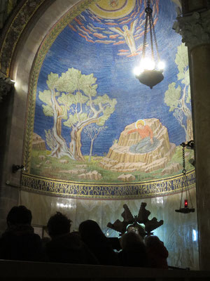 Church of All Nations, Garden of Gethsemane