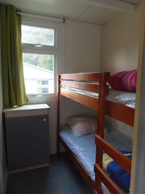 Camping les Trois Sources Vallées Lot Dordogne - Chalet 3 chambres - Chambre 3