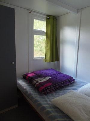 Camping les Trois Sources Vallées Lot Dordogne - Chalet 3 chambres - Chambre 2