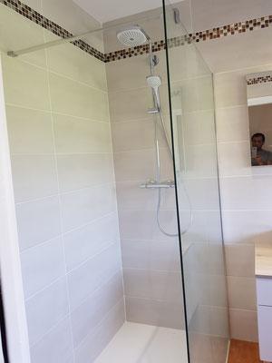 Installation d'une douche à l'italienne à Grenoble