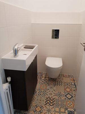 Rénovation de WC à Grenoble