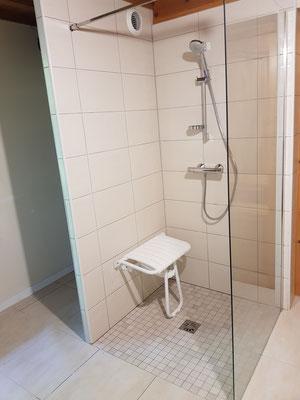 Rénovation de salle de bain pour PMR à Grenoble