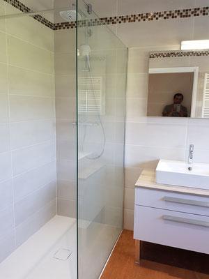 Aménagement salle de bain pour personne âgée PMR  handicape à Grenoble