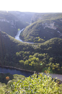 river Ardèche canyon
