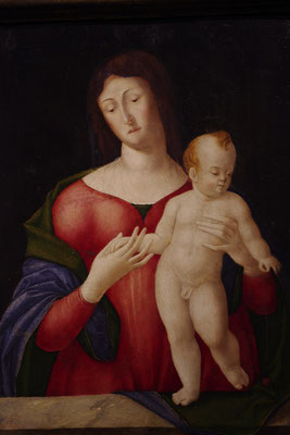 le petit palais, die Jungfrau Maria und das Kind