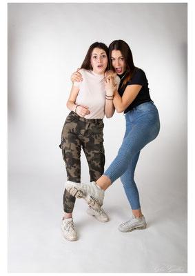 Photo studio jeunes femmes