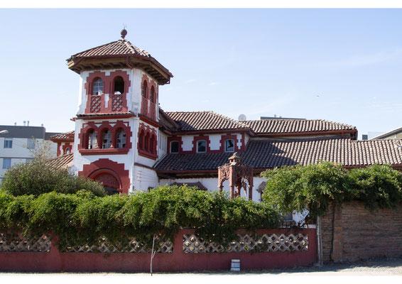Chili Rancagua maison rouge
