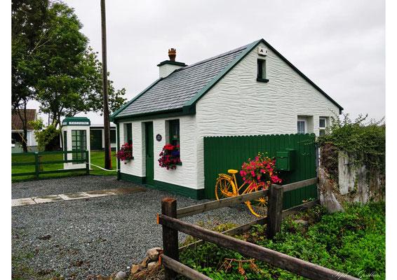 Irlande maison verte